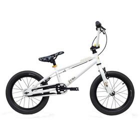 s'cool XtriX mini 16 Børn, white/gold